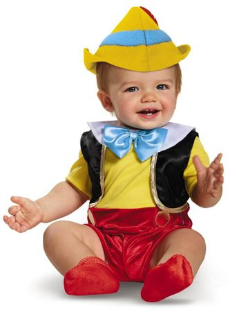 Deluxe Infant Pinocchio Costume