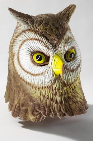 Deluxe Latex Owl Mask