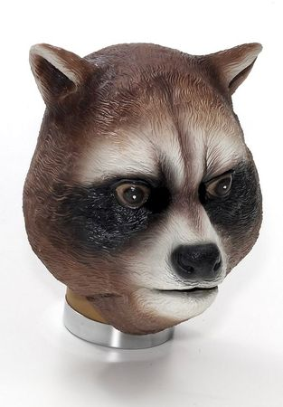 Deluxe Latex Raccoon Mask