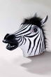 Deluxe Latex Zebra Mask