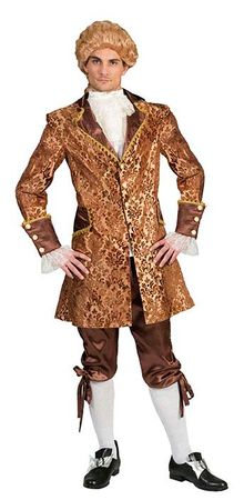 Deluxe Men's Baroque Bartoli 18th Century Costume