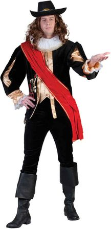 Deluxe Men's Captain Banning Renaissance Costume