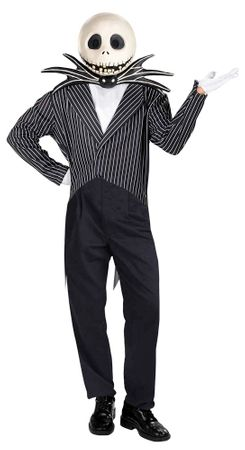 Deluxe Nightmare Before Christmas Jack Skellington Costume