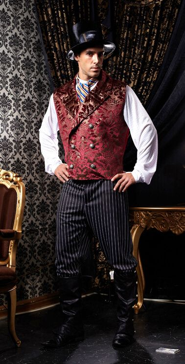Deluxe Plus Dr. Holmsby Victorian Steampunk Costume - Candy ...