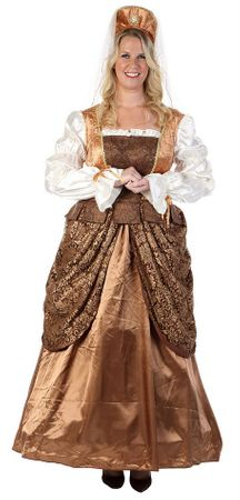Deluxe Plus Size Adult Lady Renaissance Costume