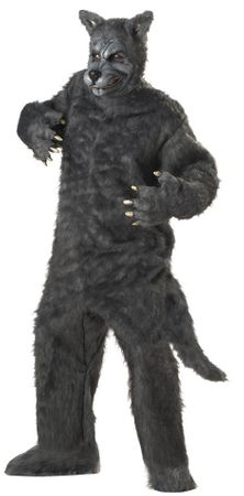 Deluxe Plus Size Big Bad Wolf Costume