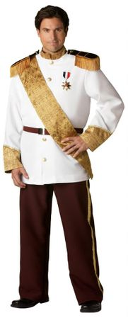 Plus Size Deluxe Prince Charming Costume
