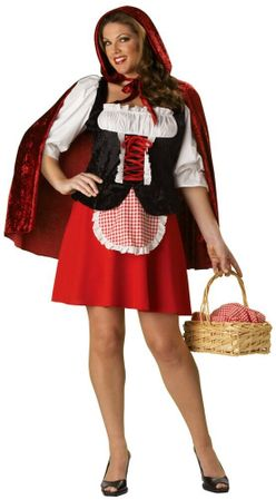 Deluxe Red Riding Hood Costume Plus Size