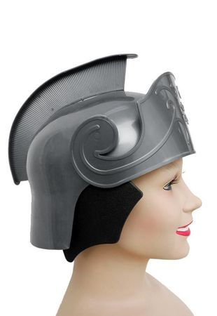 Deluxe Roman Helmet with Comb - More Colors