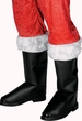 Deluxe Santa Boot Covers w/ Fur Trim
