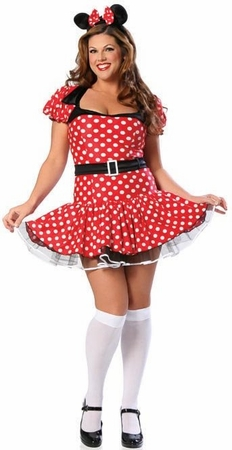 Deluxe Sexy Mouse Costume Plus Size