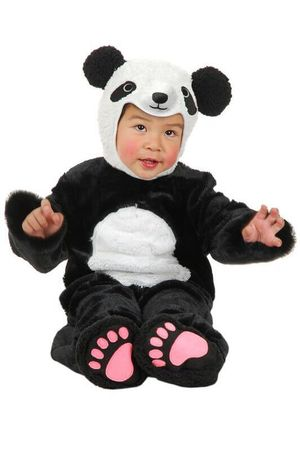 Deluxe Toddler/Child Plush Panda Costume