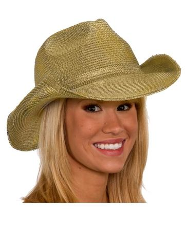 Deluxe Toyo Straw Gold Cowboy Hat