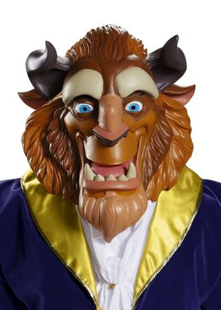 Deluxe Vinyl Beast Mask - Beauty and the Beast