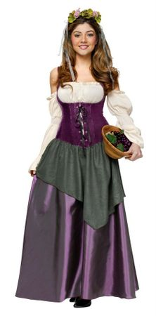 Deluxe Women's Renaissance Tavern Wench Costume