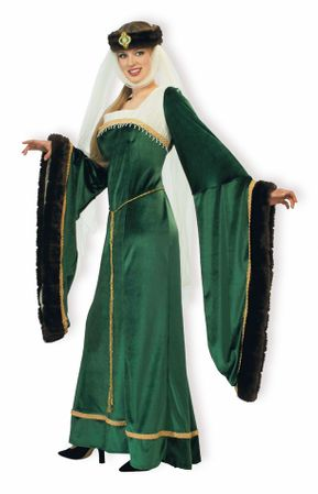 Designer Adult Noble Lady Medieval Costume