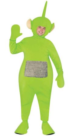Dipsy Adult Green Teletubbies Costume