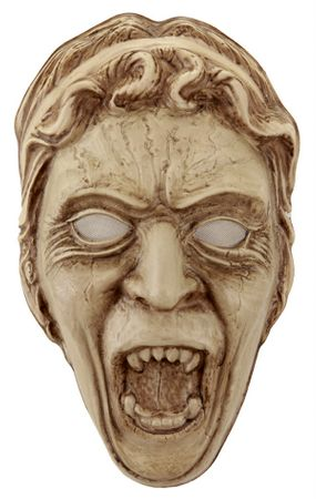 Doctor Who Weeping Angel Plastic Mask