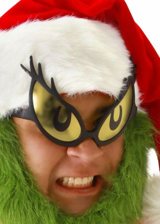Dr. Seuss Grinch Glasses
