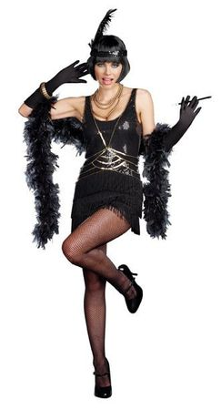 Dreamgirl Ain't Misbehavin' Adult Flapper Costume