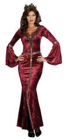 Dreamgirl Come to Camelot Medieval Adult Costume, Size XL