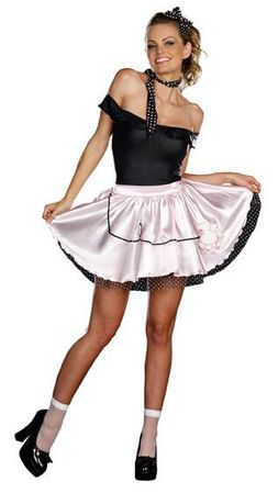Dreamgirl Fabulous 50's Sexy Adult Costume