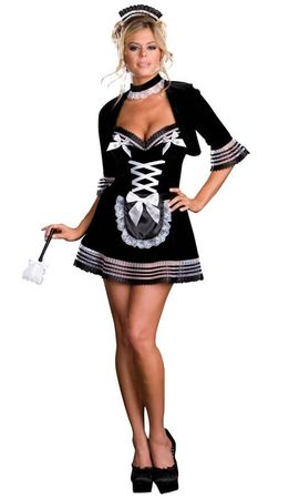 Dreamgirl Maid My Day French Maid Costume
