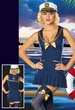 Dreamgirl Sea Side Pin Up Costume, Size Medium