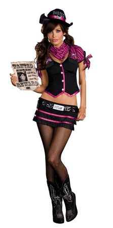 Dreamgirl Wanted! Robyn D. Banks Outlaw Costume
