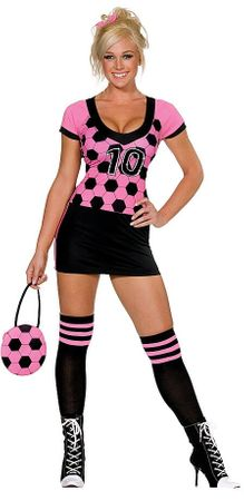 Dreamgirl World Cup Kicker Soccer Costume