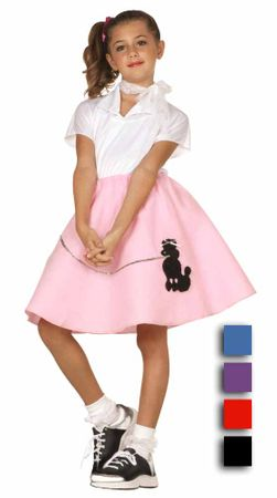 Economy Child's Poodle Skirt - More Colors