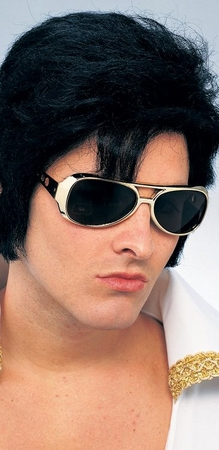 Elvis Sunglasses - Gold or Silver