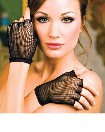 Fingerless Fishnet Gloves - More Colors
