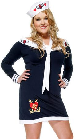 Forplay Beloved Sailor Sexy Costume Plus Size