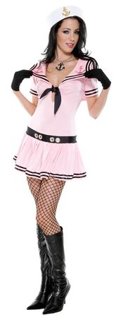 Forplay Pink Sassy Sailor Adult Costume