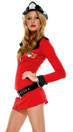 Forplay Sexy Firefighter Hottie Costume