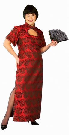 Fortune Cookie Chinese Costume Plus Size