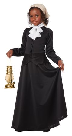 Girl's Susan B. Anthony/Harriet Tubman Costume