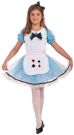 Girls' Classic Alice in Wonderland Costume