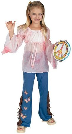 Girls' Woodstock Love Child Costume