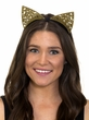 Gold Filigree Cat Ears Headband