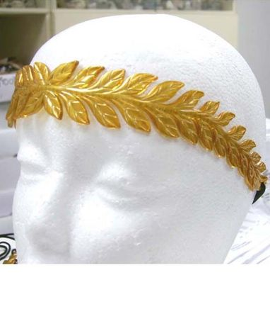 Gold Laurel Headband