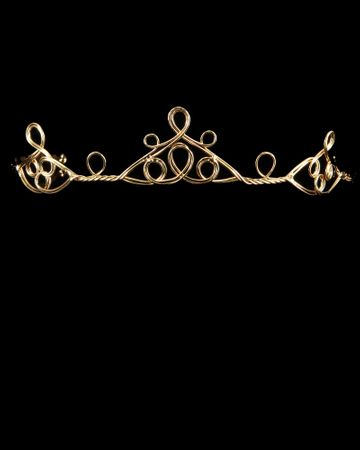 Gold Peaks Circlet Crown