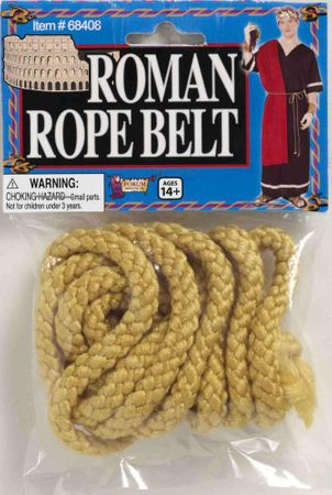 Gold Roman Rope Belt