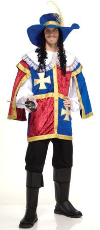 Grand Heritage Deluxe Musketeer Costume, Size M/L