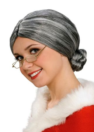 Gray Old Lady Wig