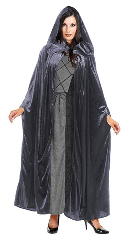 Adult Velvet Hooded Cloak - Candy Apple Costumes - Steampunk Costumes
