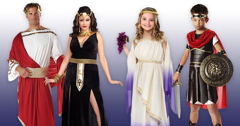 87b75f5dc Ancient Egyptian, Greek, Roman & Arabian Costumes