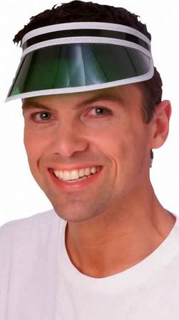 Green Eye Shade Visor