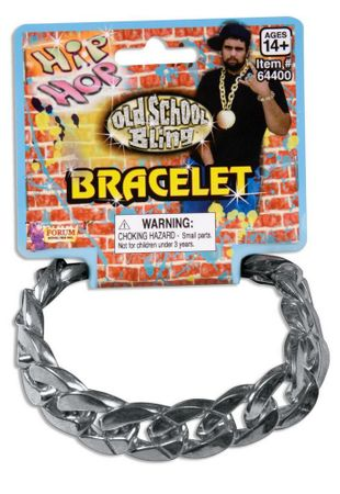 Hip Hop Big Links Silver Bracelet
